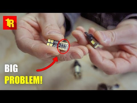 BIGGEST PROBLEM With LED REPLACEMENT BULBS In Your Car Or Truck!!!