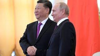ПМЭФ-2019. Владимир Путин и Си Цзиньпин на российско-китайском форуме. Полное видео