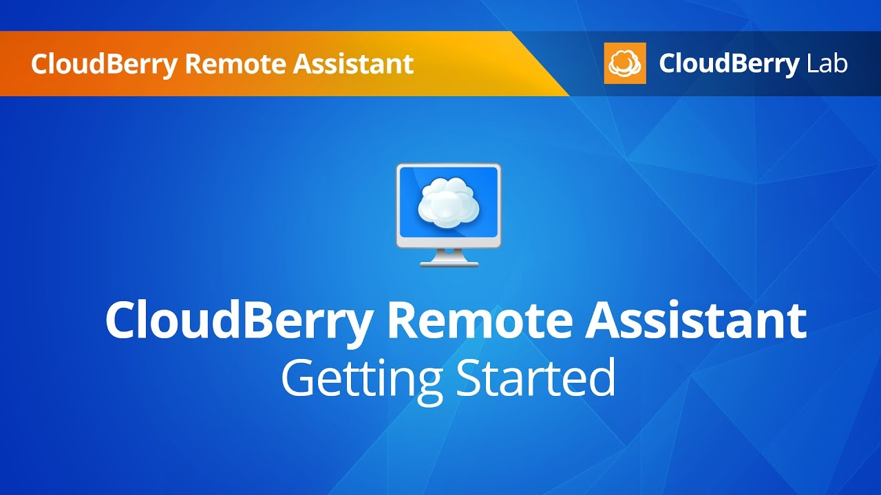 CloudBerry Remote Assistant - Getting Started