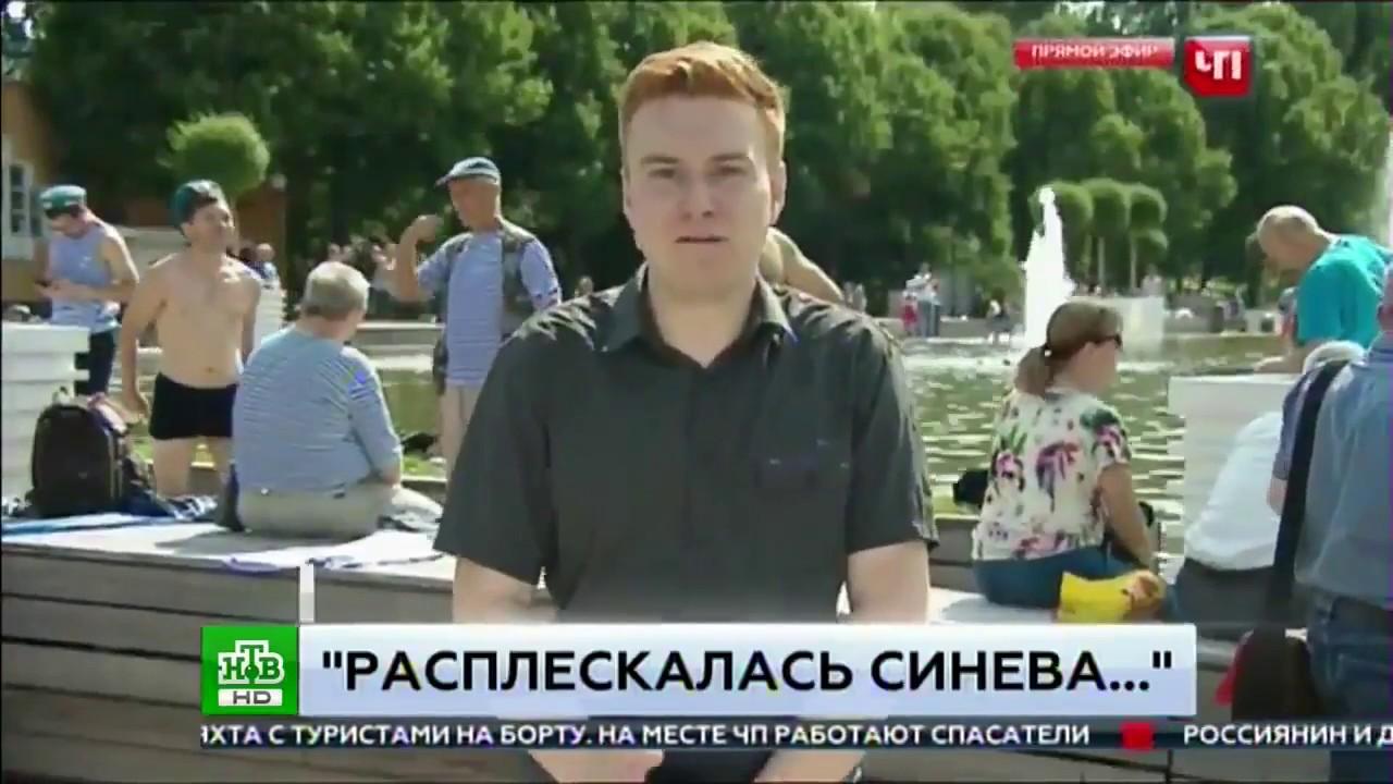 Видео прикол обгадившийся журналистской, лучшие порно в казахстане