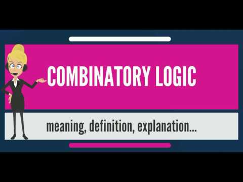 What is COMBINATORY LOGIC? What does COMBINATORY LOGIC mean? COMBINATORY LOGIC meaning