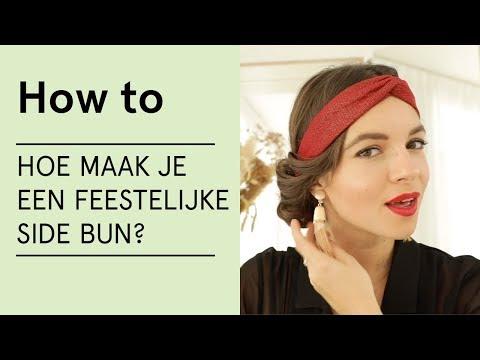 Hoe maak je een feestelijke side bun? - Veritas