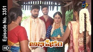 Abhishekam | 11th October 2019  | Full Episode No 3351 | ETV Telugu