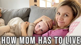 HOW MOMMY HAS TO LIVE // AT HOME VLOG // BEASTON FAMILY VIBES