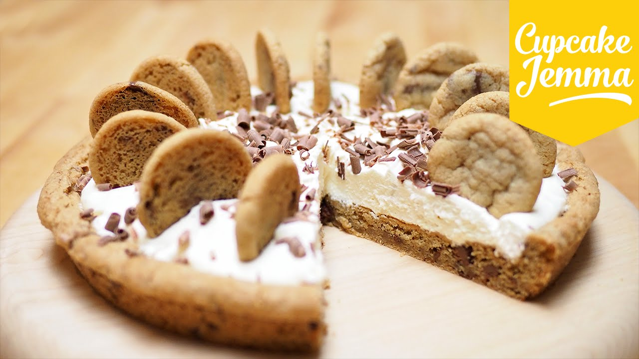 Cupcake Jemma Cake Recipe: Chocolate Chip Cookie Cream Pie Recipe