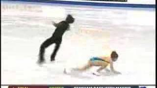 Dube - Figure Skating Accident