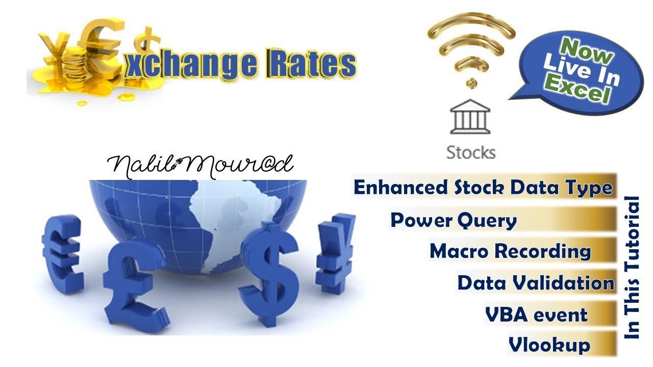 Exchange Rates Are Now Live