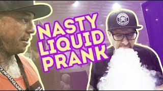 OhmboyOC ~ GrimmGreen ~ Nasty Liquid Prank