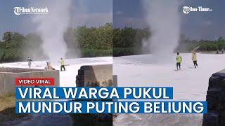 Bukannya Menghindar, Warga di Jawa Tengah Usir Angin Puting Beliung