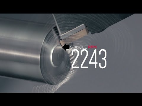 Spindle Speed Variation - Stop chatter on your CNC lathe - H