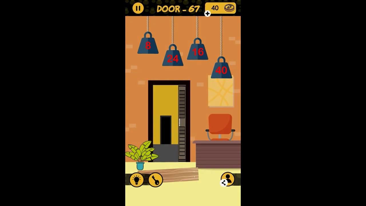 The 4 Digit Code Door 66 67 68 69 70 Walkthrough