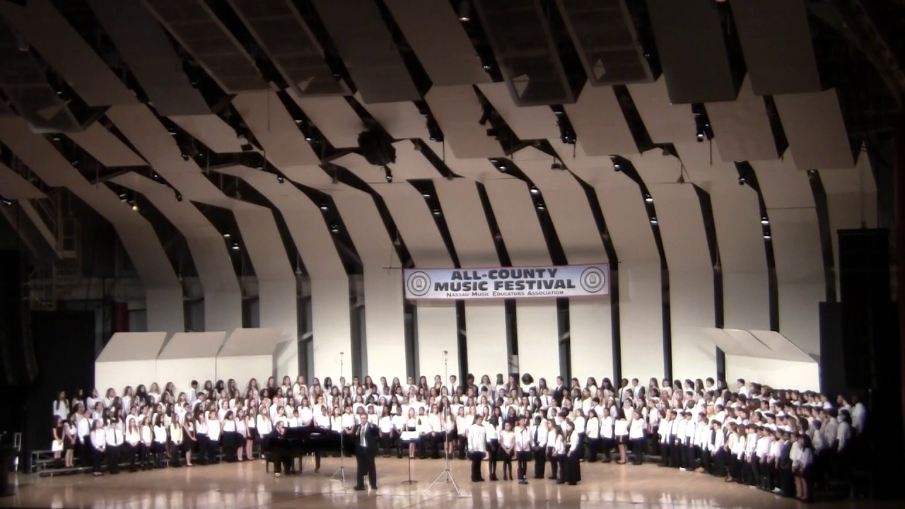 ALL COUNTY MUSIC FESTIVAL 2017 DIVISION II CHORUS THE DUEL THE GINGHAM DOG  AND THE CALICO CAT