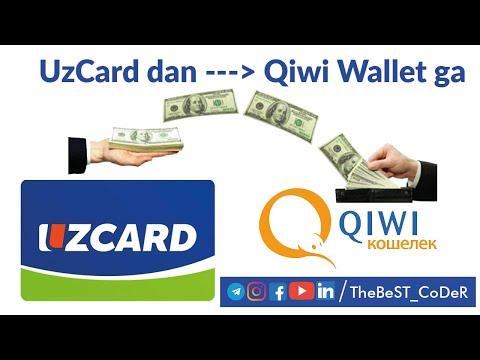 Qiwi Wallet`ga Pul Tashlash | Throw Money At Qiwi Wallet | Бросьте деньги в Qiwi Wallet | #qiwi