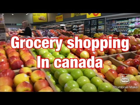 Grocery Prices In Canada.buying Grocery.how Much Grocery Cost In Canada | Cheap Grocery In Canada