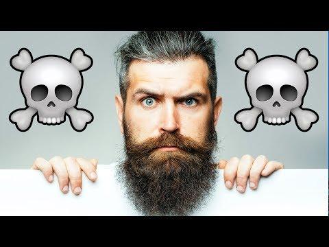 This Man's Beard Killed Him