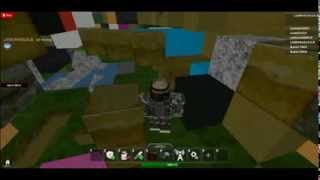 mining on roblox with laim