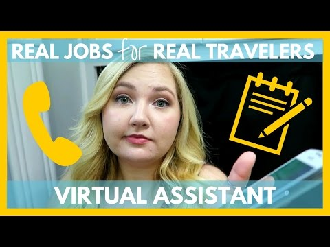 Virtual Assistant | Work From The Road | Real Jobs for Real Travelers