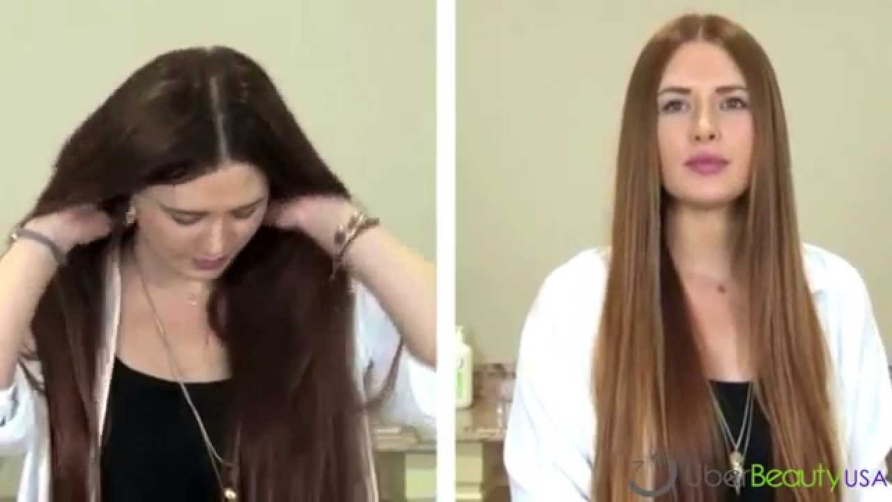 How to Use \u00dcber Hair Color Remover  YouTube