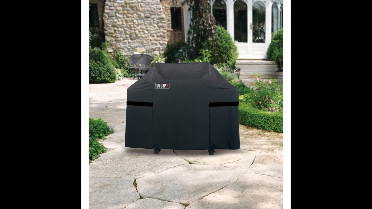 weber 7553 premium cover for weber genesis. Black Bedroom Furniture Sets. Home Design Ideas