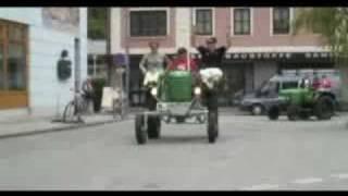HIT FM Bürgermeisterschaft Pottenstein Traktor Formel 1