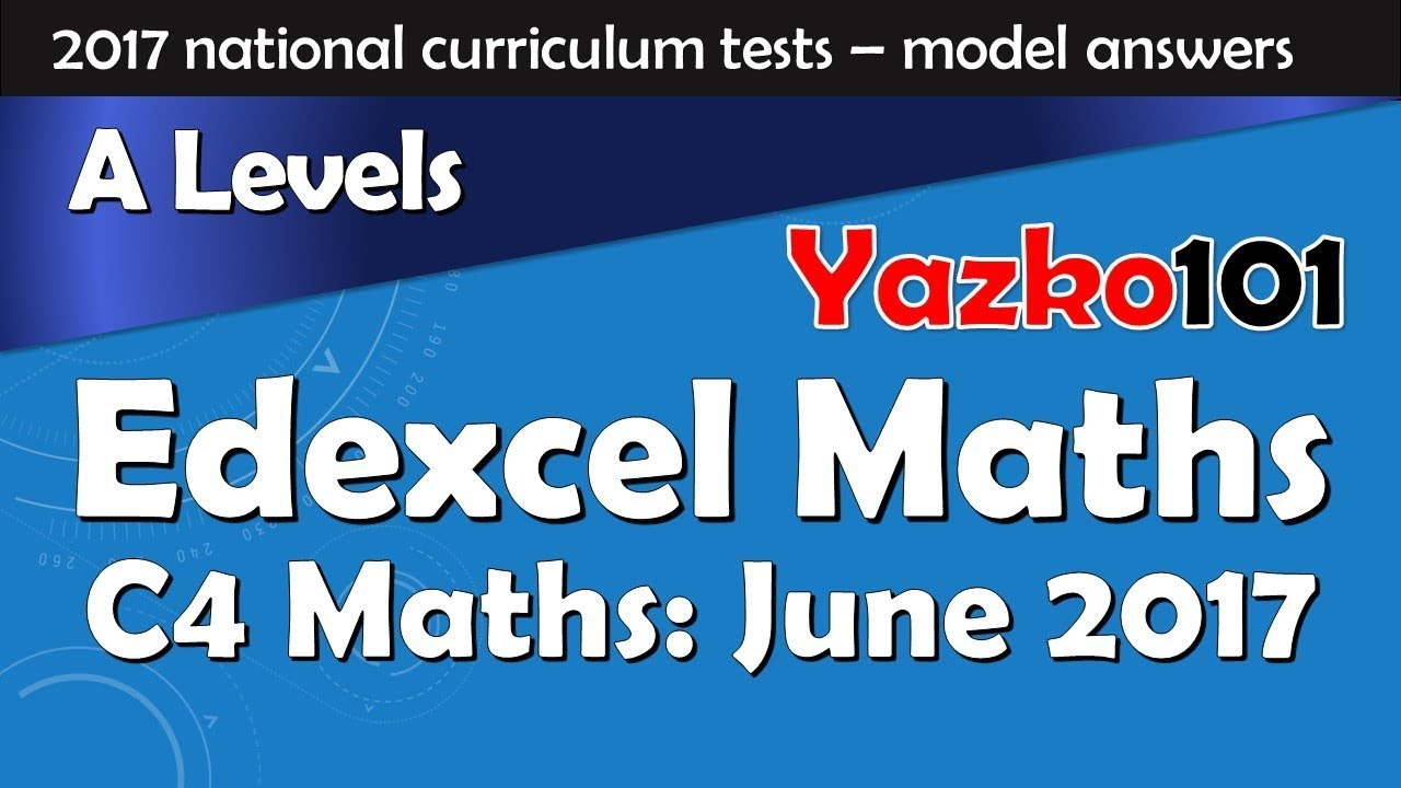 Ial chemistry mark scheme january 2014 edexcel may june 2014 c2 question paper with answers unofficial array edexcel gce maths c4 june 2017 complete model answers u0026 solution rh fandeluxe Choice Image