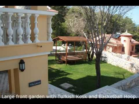 Large Turkey Holiday Villa Latona