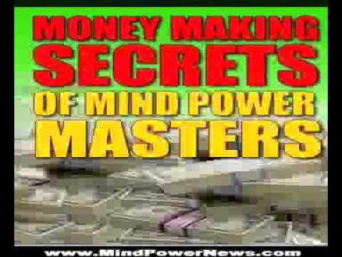 Money Making Secrets Of Mind Power Masters