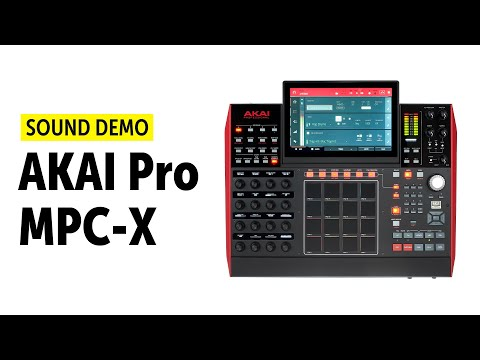AKAI Pro MPCX Beat Producing no talking