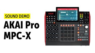 AKAI Pro MPC-X Beat Producing (no talking)