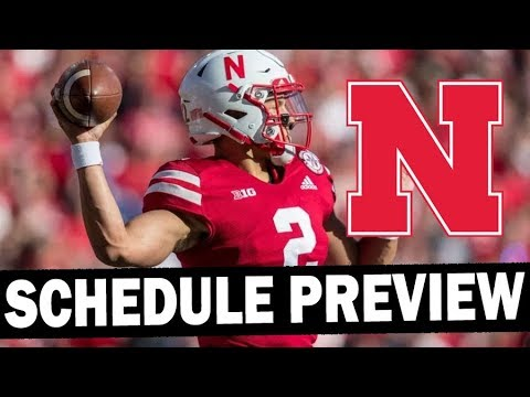 Nebraska 2019 Schedule Preview - Projected Win Total