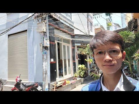 Livestream Bán Nhà Căn Góc 2 Mặt Hẻm 4m Hưng Phú P10 Quận 8, Gần Mặt Tiền
