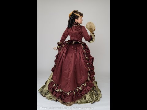 Dressing up a Victorian lady ( 1868-72)