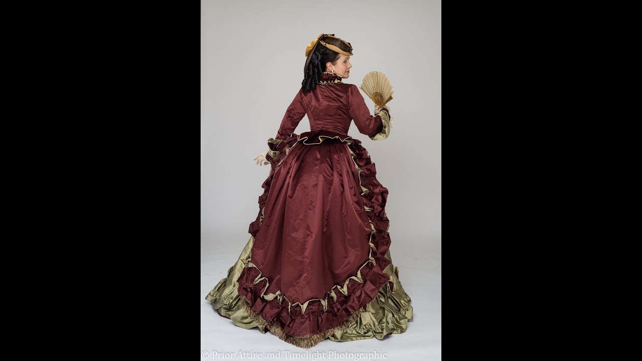 Dressing up a Victorian lady ( 1868-72) - YouTube
