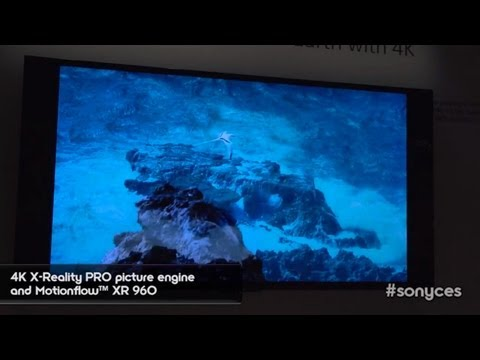 CES 2013: New Sony's 4K TVs ( BRAVIA® X900A Series 4K Ultra HD TV) First Look