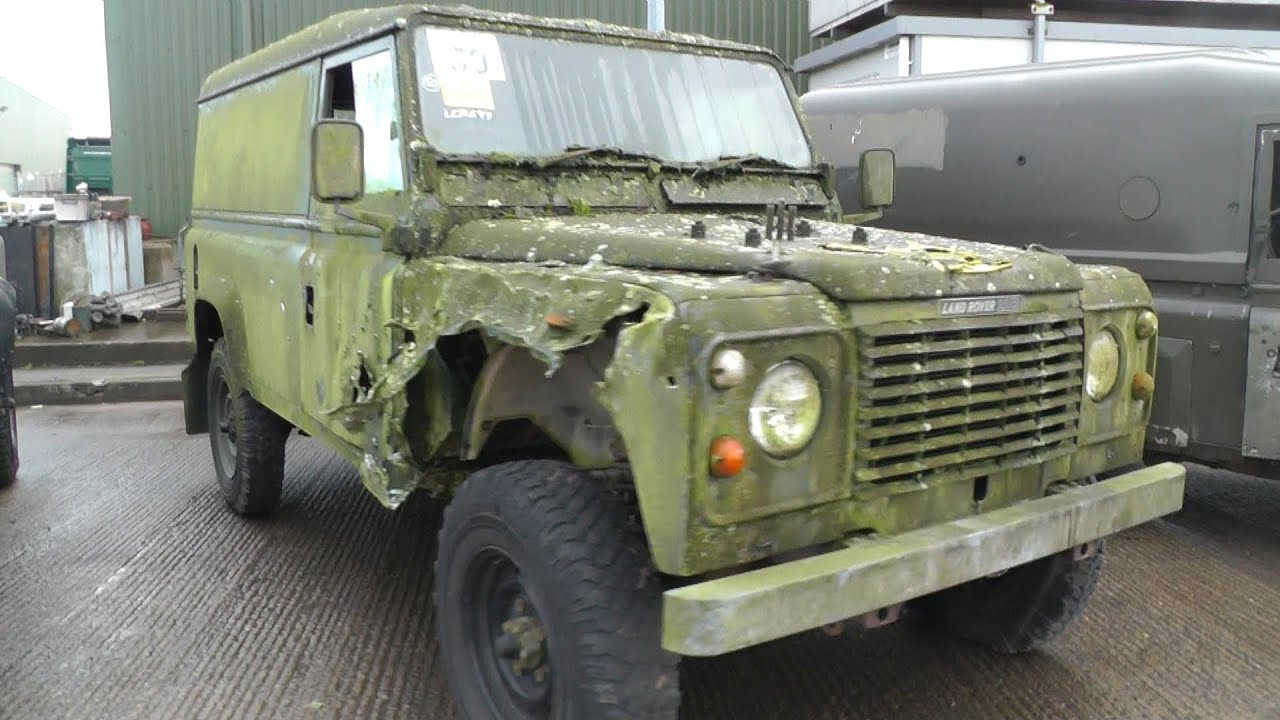 Witham SV Military Vehicle Auction / Tender Jan 2014