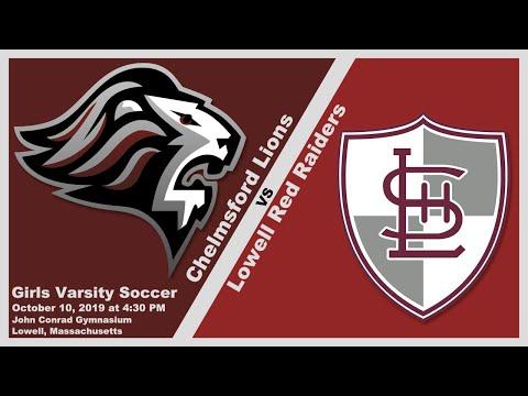 CHS Lions Girls Varsity Soccer vs Lowell Red Raiders Oct. 10, 2019