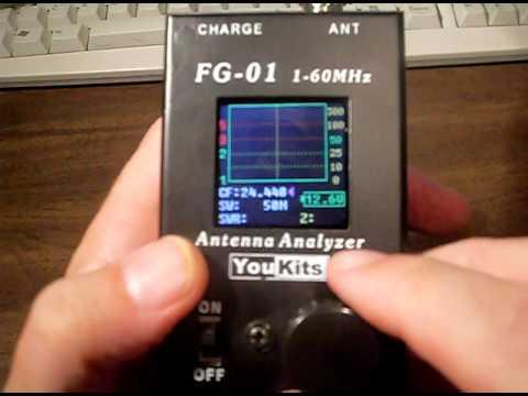 YouKits FG-01 Antenna analyzer