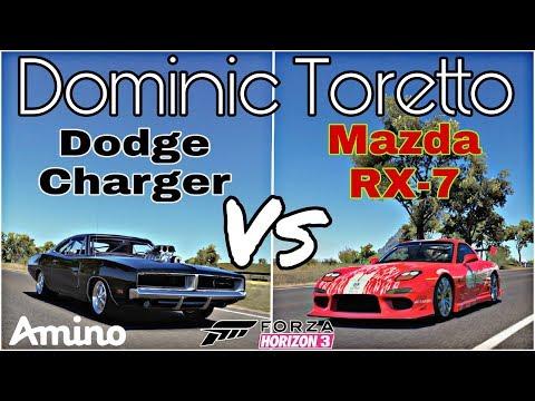 Forza Horizon 3 - Dominic Toretto's F&F Charger Vs RX-7 - Forza Rivalries