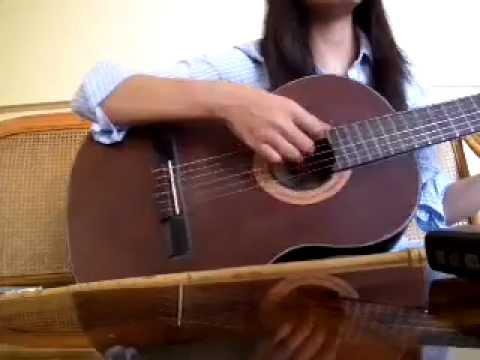Dấu yêu một thời guitar cover - RubyNguyen1606