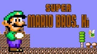 Super Mario Bros. - Hi: Episode 1 (Luigi) | Hack of Super Mario Bros. (2005)