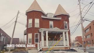 Voici notre Maison Jacynthe de Ste-Thérèse Adresse : 75 rue Turgeon,Sainte-Thérèse, Qc J7E 3H4 Nous rejoindre : 450 939-4420.
