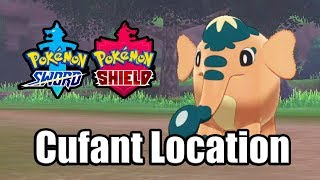 POKEMON SWORD AND SHIELD - Where to find Cufant (Wild Cufant Location)