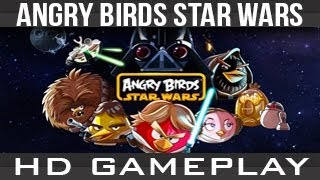 App Review: Angry Birds Star Wars iPhone/iPod Touch/iPad Gameplay [HD]