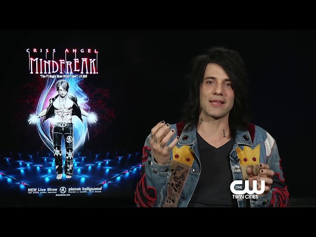 CRISS ANGEL talks about his biggest accomplishments