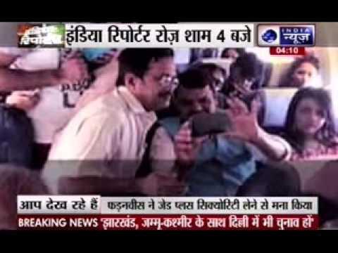 Maharashtra chief minister Devendra Fadnavis flies economy class to Nagpur