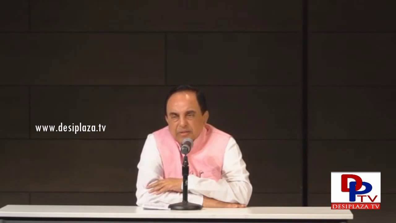 Entire Kashmir is Ours - Clarifies Dr. Subramanian Swamy to a Pakistani student