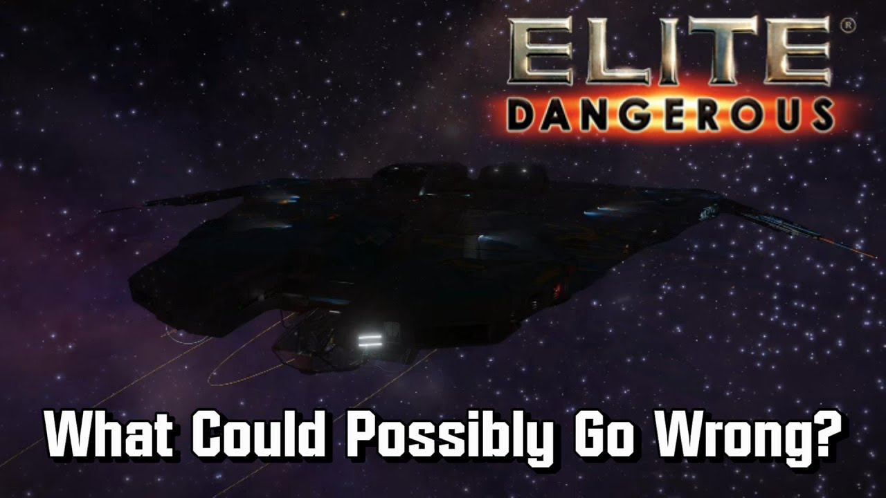 Elite: Dangerous - What Could Possibly Go Wrong?