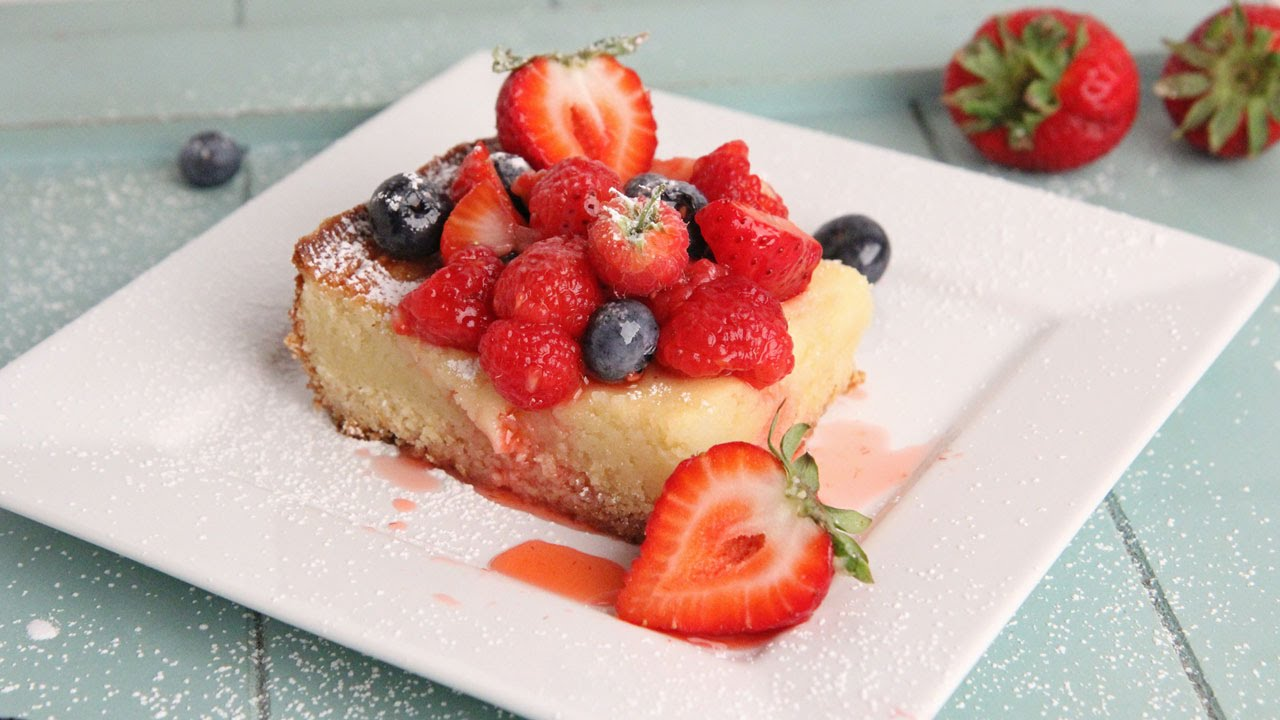 Ooey Gooey Butter Cake Recipe | Episode 1058