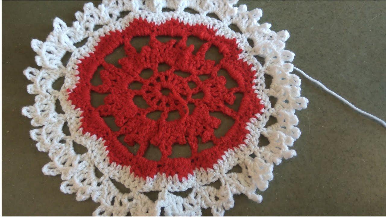 Superieur Handmade Crochet Tablecloth Part(3/3)(Crocheted Life)