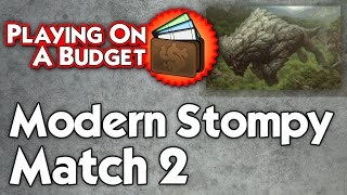 Mtg Modern: Stompy Vs Burn, Part 1 - Playing On A Budget